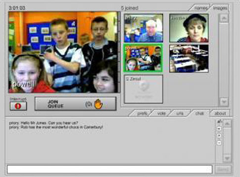 Virtual meetings for schools